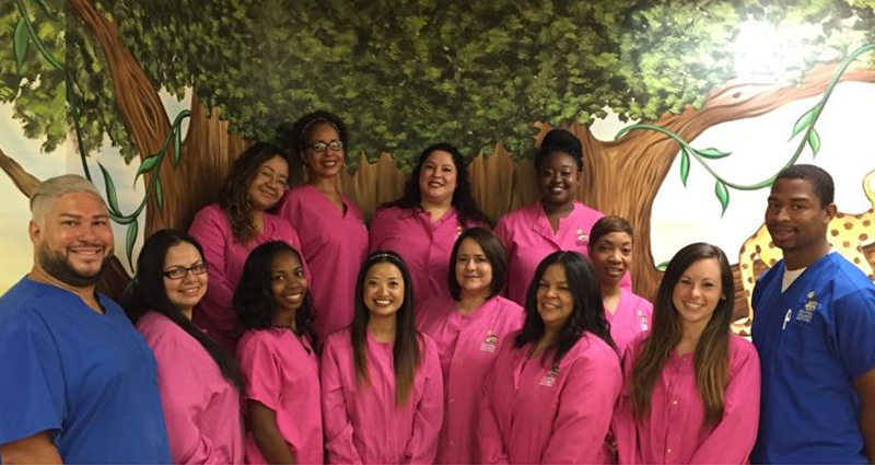 Snellville, GA staff for the pediatric dental offcie of Peachtree Children's Dentistry